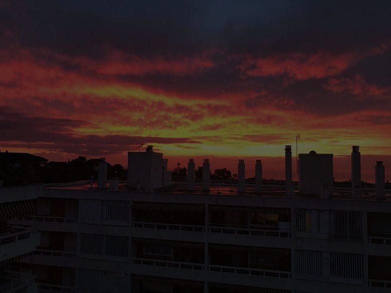 Cabrera de Mar a l'alba